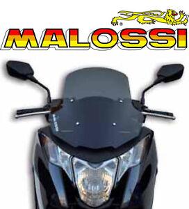 Bulle-Screen-Pare-brise-Fume-MALOSSI-MHR-maxi-scooter-HONDA-INTEGRA-700-4515621B