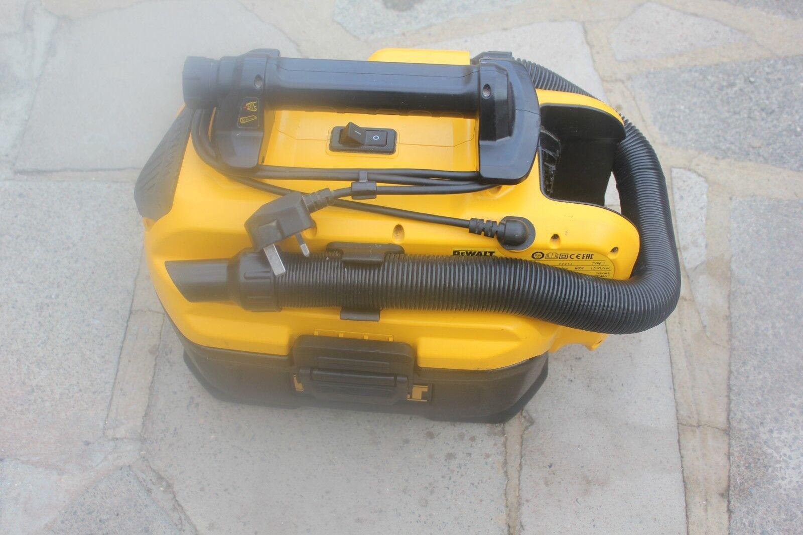 DeWalt DCV582 FLEXVOLT XR 14.4V 18v Wet Dry Cordless Corded Vacuum