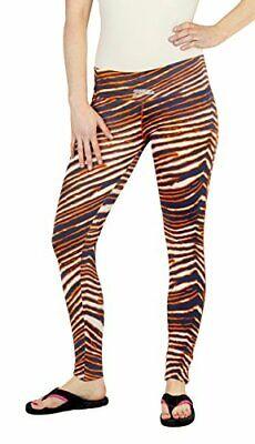 Zubaz MLB Women/'s St Louis Cardinals Team Color Tiger Print Leggings Pants