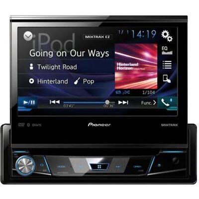 Pioneer AVH-X7800BT Autoradio 1-DIN mit ausfahrbarem Monitor und Bluetooth USB