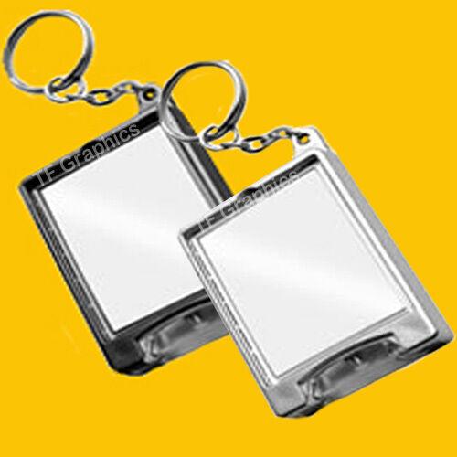 Custom Personalised Torch Keyring Family Photo Logo Pets Kids Keyrings Light