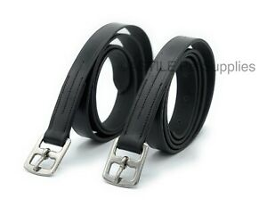 Leather-Stirrup-Leathers-Adults-And-Child-Heavy-Duty-With-Strong-Buckle-Durable