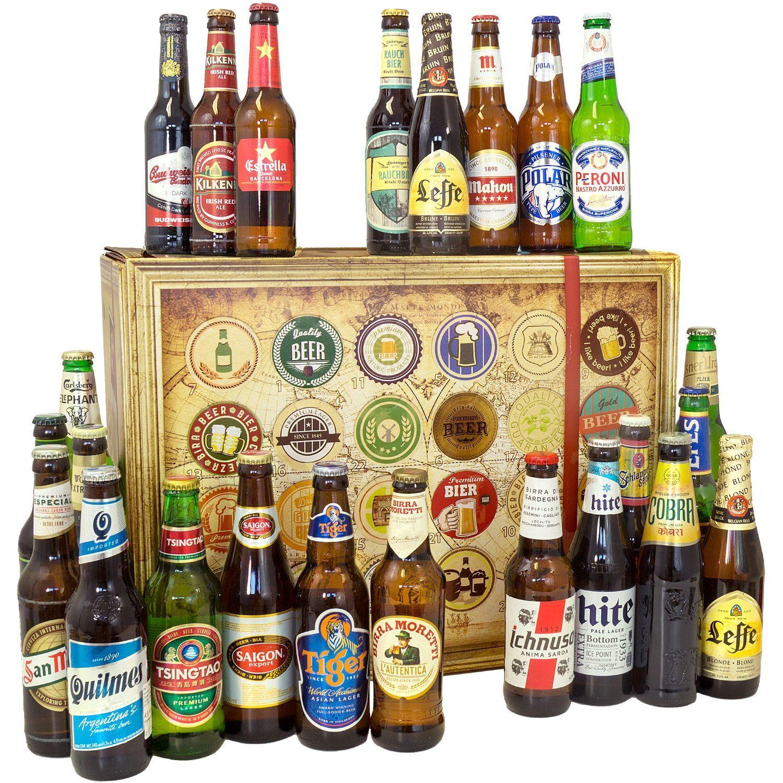 Bier Spezialitäten aus aller Welt - Geschenke für Männer zum Geburtstag