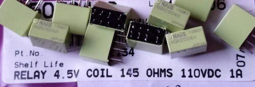 NAIS PANASONIC AGN2004H 1A  4.5VDC 145 Ohm Electromechanical Relay