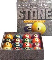 Aramith 2 1/4 Premium Stone Collection Belgian Billiard Pool Ball Set Arss