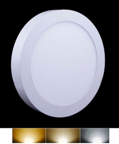 Downlight Panel LED Superficie Redondo Circular 25W 3000K 4000K 6000K Envio 48h