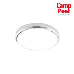 Saxby 70450 cobra xs 300mm round flush ip44 15w led bathroom light image is loading saxby 70450 cobra xs 300mm round flush ip44 aloadofball Images