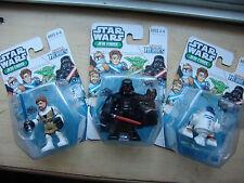 NEW HASBRO STAR WARS THE FORCE AWAKENS 7 JEDI KNIGHT Figures DARTH VADER R2-D2 X