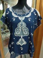 Sundacne Catalog Celestial Dreams Top M Embroidery