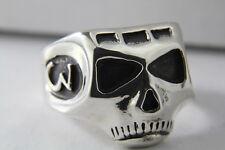 Sterling silver Depp skull ring Pirate JACK  Sparrow Johnny Richards Acme Brand