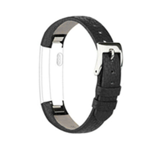 Luxus Echtes Leder Uhrenarmband Armband Band Strap Für Fitbit Alta//HR Hot