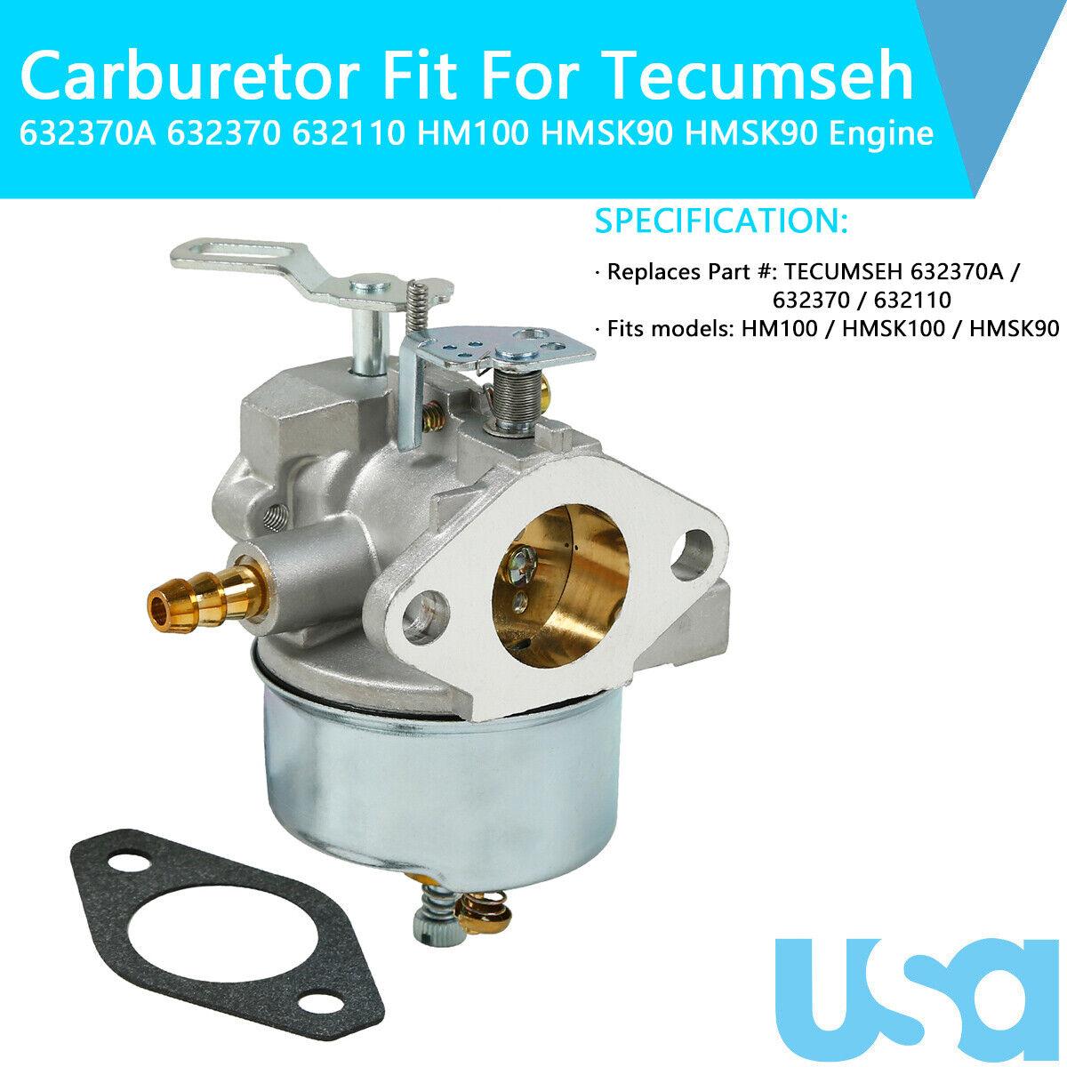 5x Fuel Filter For Tecumseh HM100 HMSK90 HMSK100 Engine for sale online |  eBayeBay