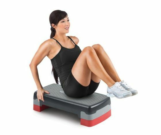Adjustable Step Deck S Gym Fitness Pro Form Compact Workout Exercise Aerobic