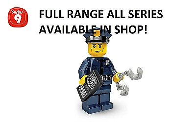 Lego policeman series 9 unopened new factory sealed
