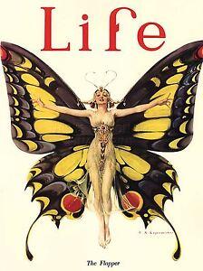 ART-PRINT-POSTER-MAGAZINE-COVER-1922-LIFE-BUTTERFLY-DANCER-NOFL0622