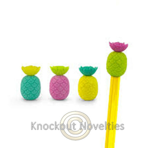 Totally Tropical Funny Novelty Pineapple Pine Apple Pencil Topper Top Eraser