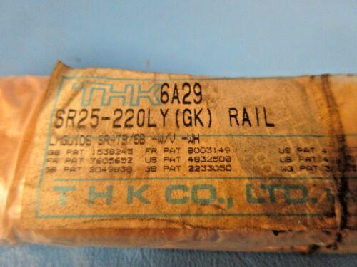 220MM SLIDE RAIL ONLY THK  SR25-220LY Linear Motion Rail