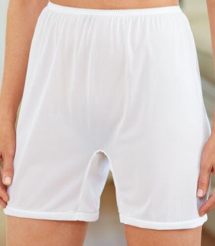 3 Pair IVORY Size 9 Long Leg Nylon Tricot No Cotton Crotch Panty USA CLOSE OUT