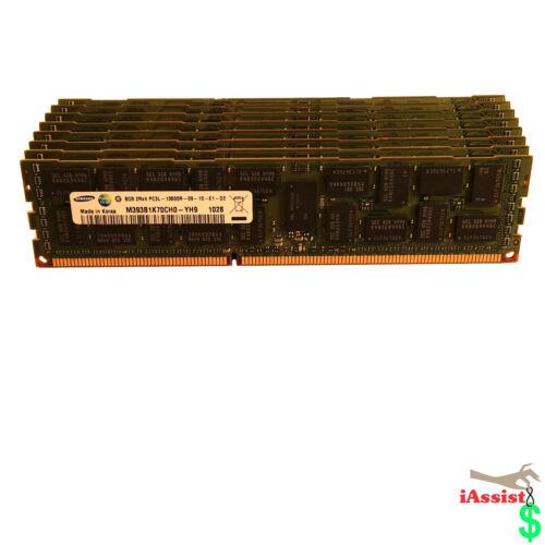 64GB MEMORY FOR DELL PRECISION WORKSTATION T5500 T7500 8 X 8GB DDR3 ECC REG