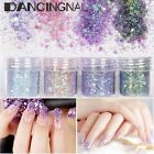 6/12pcs Colors Nail Art Glitter Decoration Dust Powder Body Glitter Bulk Glitter