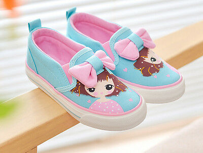 Hot girls canvas shoes casual slip on breathable baby sneakers canvas shoes