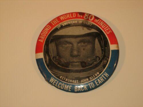 John Glenn Mercury Astronaut Historic Flight Button