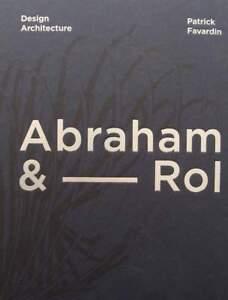 BOEK-LIVRE-Abraham-amp-Rol-design-amp-architexture-50-60-1950s-1960s-SAD
