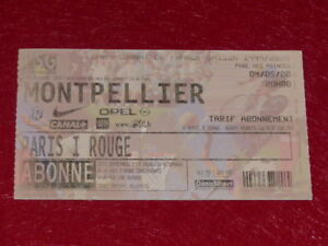 COLLECTION-SPORT-FOOTBALL-TICKET-PSG-MONTPELLIER-4-MAI-2000-Champ-France