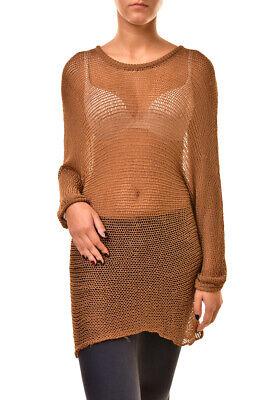 One Teaspoon Womens Knit 19515 Sweater Relaxed Fit Tan Brown Size S Eine Lange Historische Stellung Haben