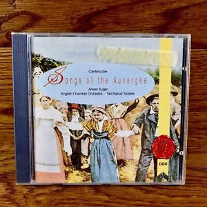 Canteloube-Song-Of-The-Auvergne-Cd-Arleen-Auger-English-Chamber-Orchestra-Mint