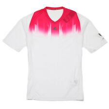 Adidas Messi adizero F50 White Pink climacool Training Football T-Shirt Medium