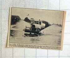 1923 Motor Watering Cart In Berlin Doubles As Sweeper And Snowplough