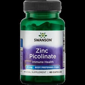 Swanson-Zinc-Picolinate-Body-Preferred-Form-22-mg-60-Caps