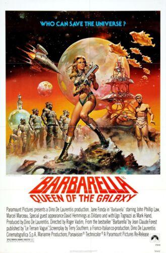 BARBARELLA Movie Poster 1968
