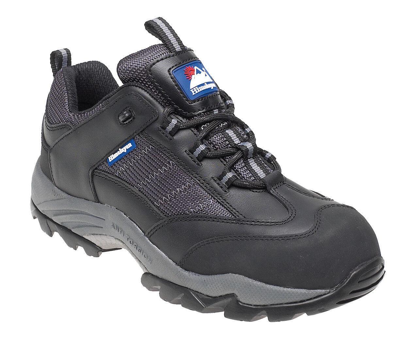 Himalayan 4030 S1 SRC gravedad Negro Seguridad Libre De Metal Puntera Composite Zapatillas