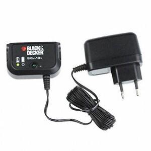 BLACK /& DECKER CARICABATTERIE ALIMENTATORE 18V EPC18 EPC188 GKC1000 GPC1800 GLC2