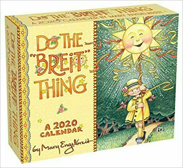 Mary Engelbreit 2020 Day To Day Calendar Do The Breit Thing For Sale Online Ebay