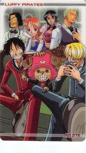 One-Piece-Trading-Card-New-King-of-Pirates-Gumi9-No-275-Luffy-Chopper-Sanji-Nami