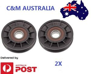 Cox-Ride-On-Mower-Idler-Pulley-2X-PIVBB20SPA90-Mowers