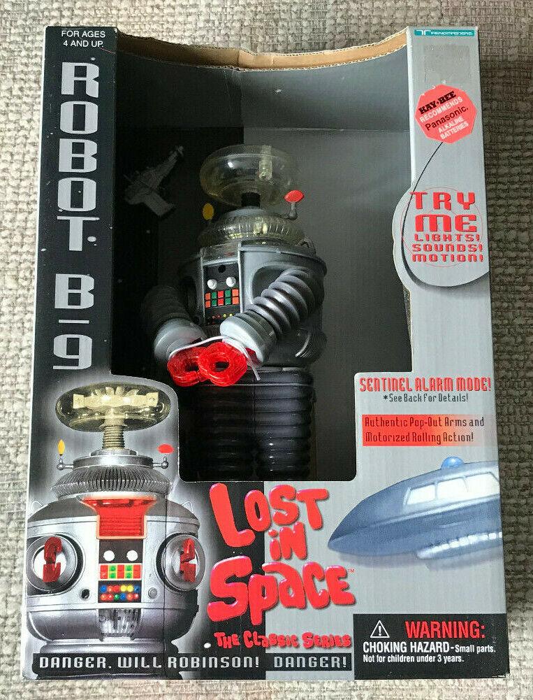 VINTAGE LOST IN SPACE B9 ROBOT TRENDMASTERS NEW