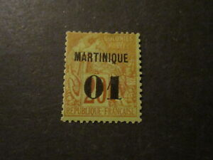 Martinique #5 Mint Hinged- I Combine Shipping!