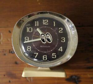 Vtg Westclox Baby Ben Glow in the Dark Numbers & Arms Wind Up Analog Alarm Clock