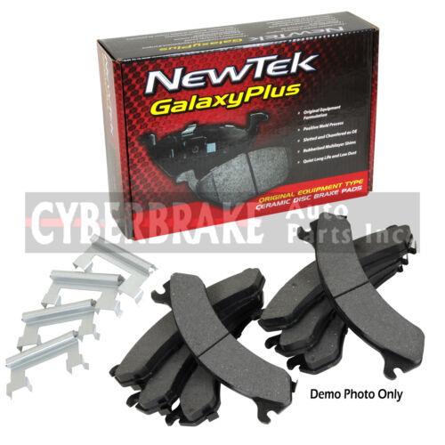 PCD784H FRONT Premium Ceramic Brake Pads Fits  01 Chevrolet C3500W//Hardware Kit