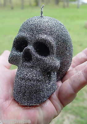 SAMHAIN SKULL ALTAR RITUAL CANDLE Wicca Pagan Witch Goth Spell Goddess HALLOWEEN