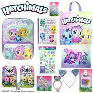 Hatchimals-Showbag-Kids-Gift-Bag-Back-Pack-Colleggtibles-Pencil-Case