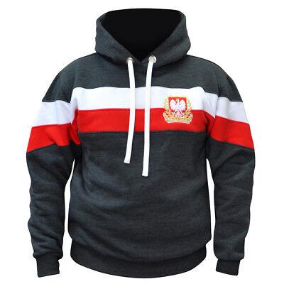 Sweatshirt Bluza Bluse Patriotic Eagle Poland Wielka Polska Walczaca Polen NSZ
