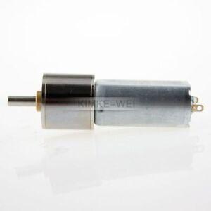 12V 1000RPM Torque Gear Box Motor New