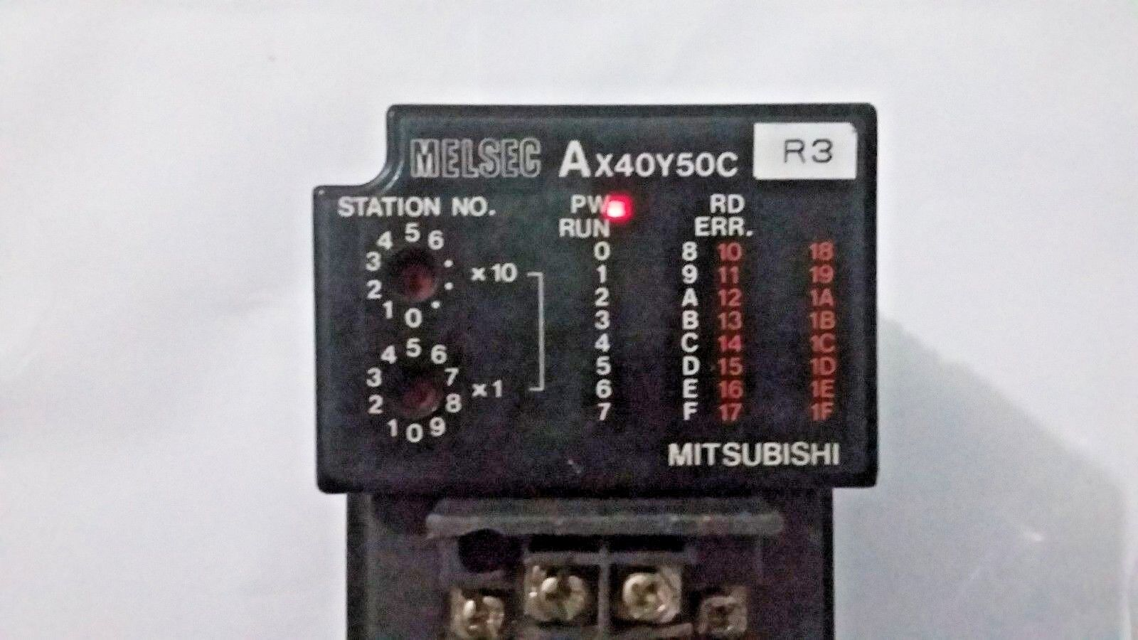 Mitubishi AX40Y50C Input Output Unit MELSEC AX40Y50C