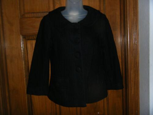 Bb Dakota Short Black Blend S Taglia Jacket Wool OaUrOW7v