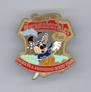 DLR Pirates of the Caribbean Mickey Mouse GWP Disney Pin 47696